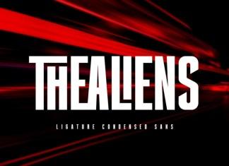 The Aliens Sans Serif Font