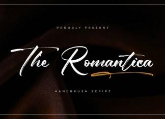 The Romantica Brush Font