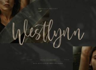 Westlynn Brush Font