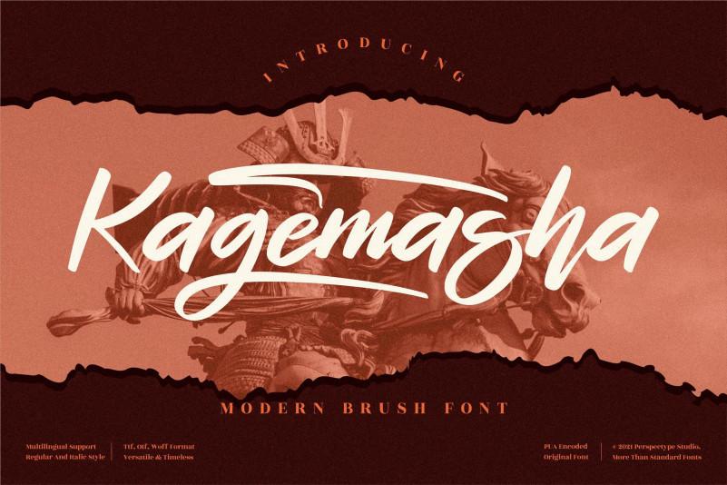 Kagemasha Script Font