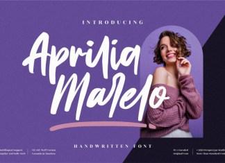 Aprilia Marelo Script Font