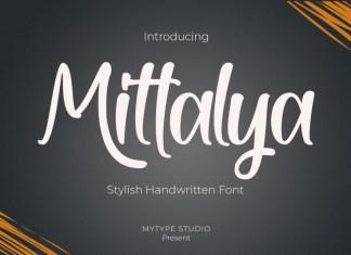 Mittalya Script Font
