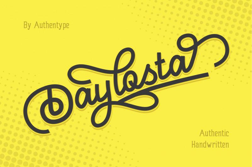 Daylosta Script Font