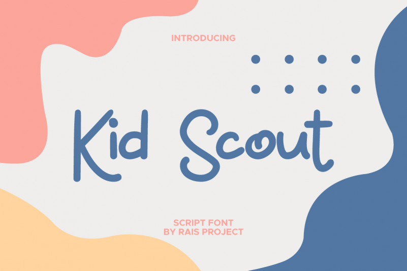 Kid Scout Display Font