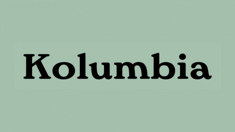 Kolumbia Serif Font