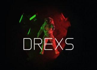 Drexs Display Font