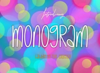 Monogram Display Font
