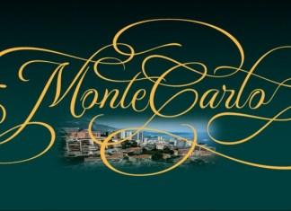 MonteCarlo Calligraphy Font