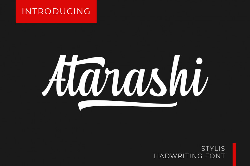 Atarashi Font