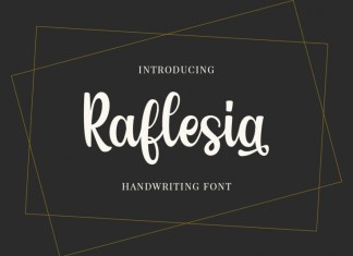 Raflesia Script Font