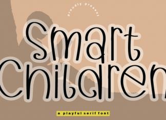 Smart Children Script Font