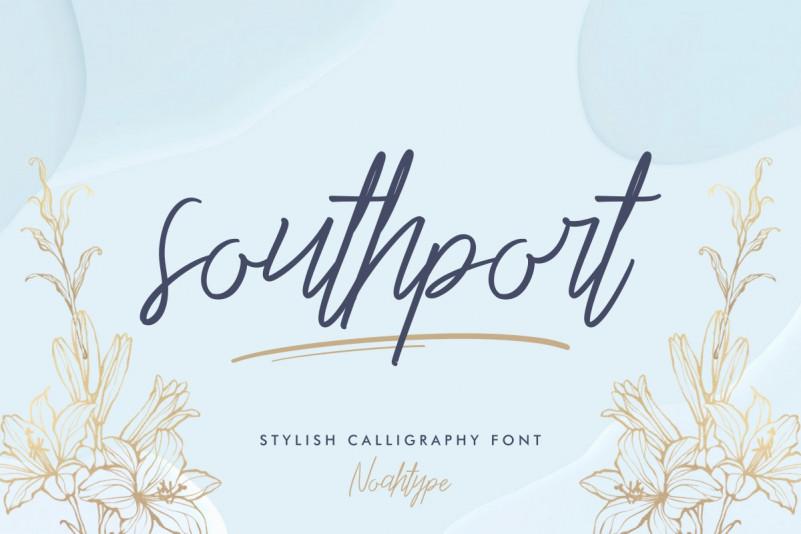Southport Handwritten Font