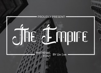 The Empire Display Font