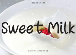 Sweet Milk Display Font