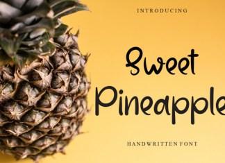 Sweet Pineapple Script Font