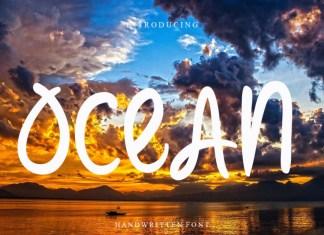 Ocean Script Font