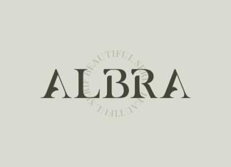 Albra Serif Font