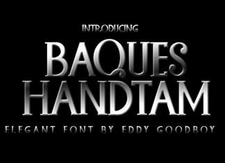 Baques Handtam Slab Serif Font