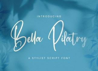 Bella Pilatry Handwritten Font