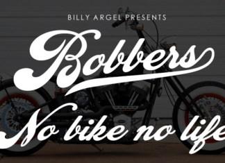 Bobbers Bold Script Font