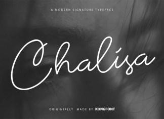 Chalisa Handwritten Font