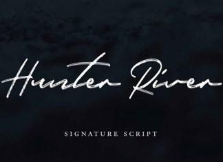 Hunter River Script Font