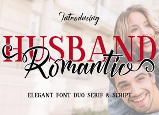 Husband Font Duo