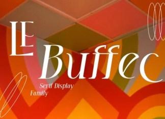 LE Buffec Serif Font