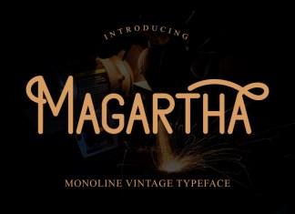 Magartha Display Font