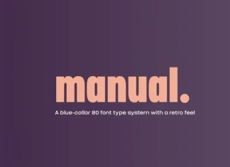 Manual Sans Serif Font