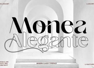 Monea Alegante Sans Serif Font