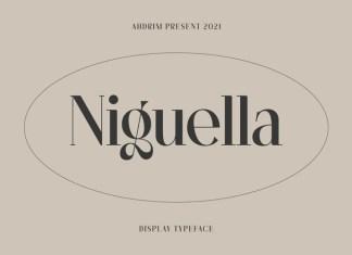 Niguella Serif Font