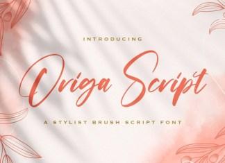 Origa Script Font