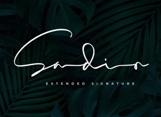 Sadio Handwritten Font