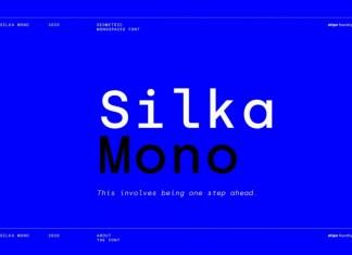Silka Mono Sans Serif Font
