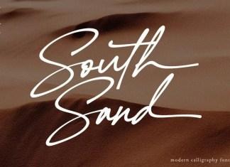 South Sand Handwritten Font