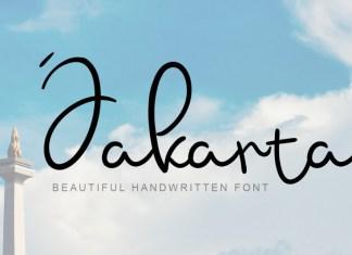 Jakarta Handwritten Font