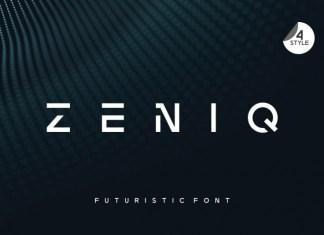 Zeniq Display Font