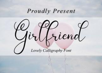 Girl Friend Script Font