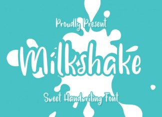 Milk shake Script Font