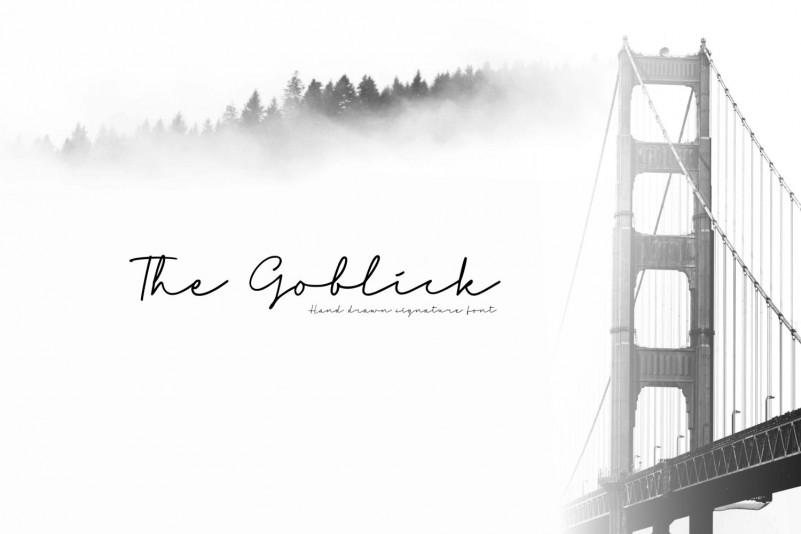 The Goblick Handwritten Font