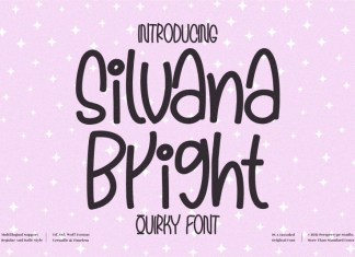 Silvana Bright Display Font