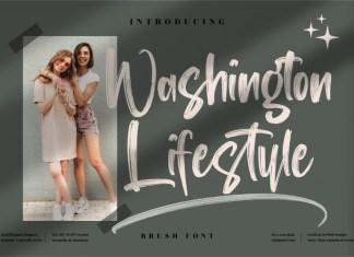 Washington Lifestyle Brush Font