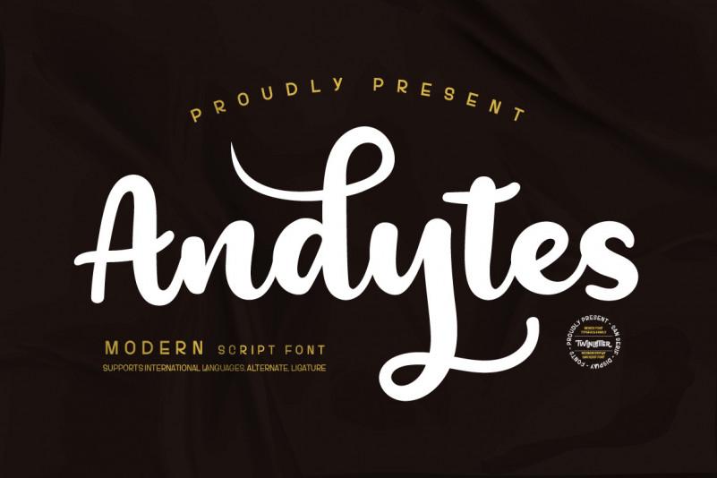 Andesytes Script Font