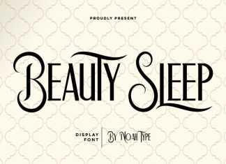 Beauty Sleep Sans Serif Font