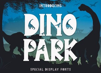 Dino Park Display Font