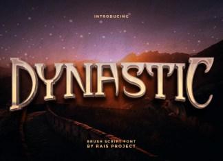 Dynastic Display Font
