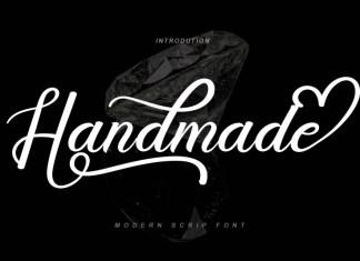 Handmade Calligraphy Font