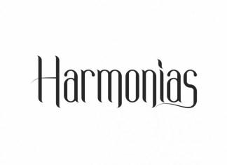 Harmonias Display Font