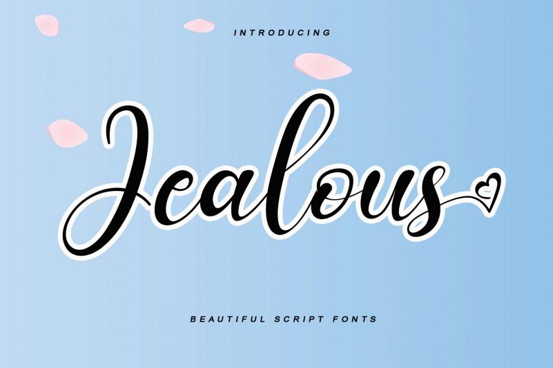 Jealous Script Font
